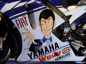 Lorenzo pays tribute to Monkey Punch´s Lupin III with special Motegi livery