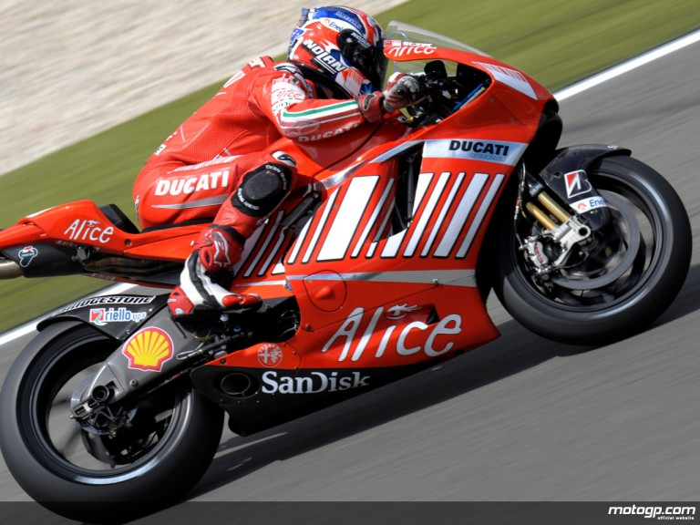 2007 World Champion Casey Stoner
