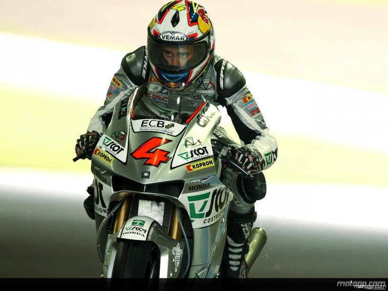 Andrea Dovizioso during practice in Motegi (MotoGP)