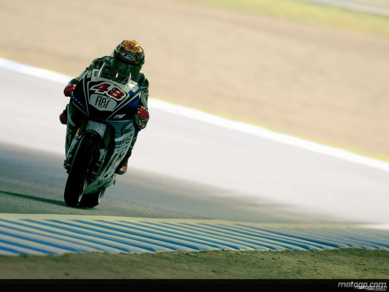 Jorge Lorenzo during practice in Motegi (MotoGP)