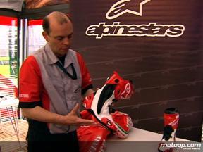Alpinestars´ Jeremy Appleton explains MotoGP boots design