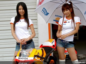 Repsol Paddock Girls in Motegi