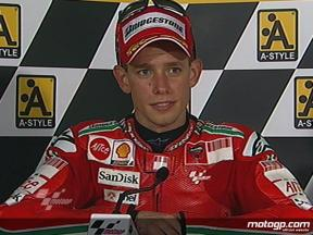 Casey Stoner interview after race in Motegi