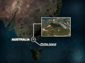 Phillip Island circuit close up