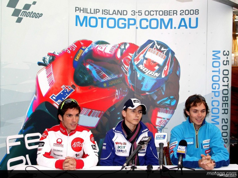 Elias, Lorenzo and Vermeulen talk to the press in Melbourne