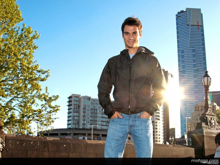 Pedrosa enjoys sightseeing in Melbourne ahead of the Australian GP
