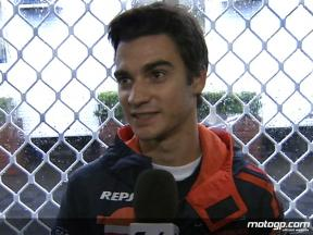 Pedrosa waiting for better weather