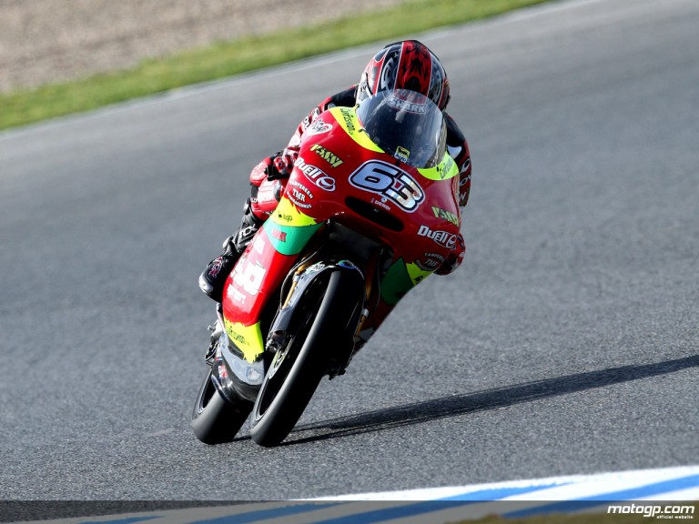 Mike di Meglio in action (125cc)