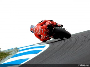 Casey Stoner at Lukey Heights