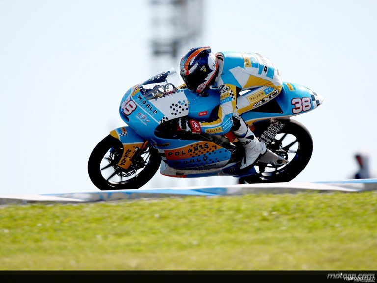 Bradley Smith in action in Phillip Island