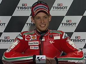 Casey Stoner interview after QP in Phillip Island