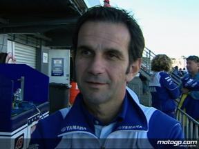 Brivio on Rossi´s eventful qualifying session