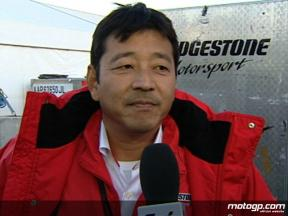 Yamada on Bridgestone proposal as single tyre supplier