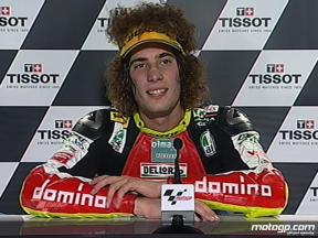 Marco Simoncelli interview after race in Phillip Island