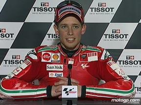 Casey Stoner interview after race in Phillip Island