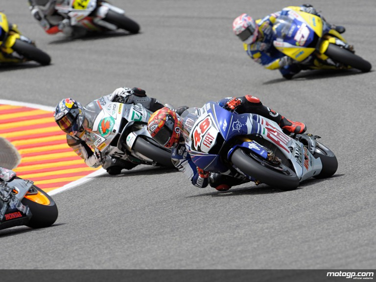 Lorenzo ahead of Dovizioso in the Rookie of the Year title chase