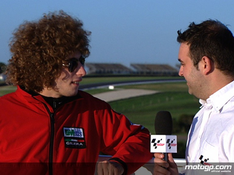 250cc title contender Marco Simoncelli in After the Flag