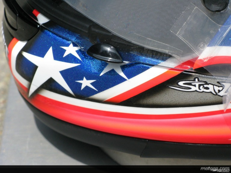 Nicky Hayden 2008 Helmet designs