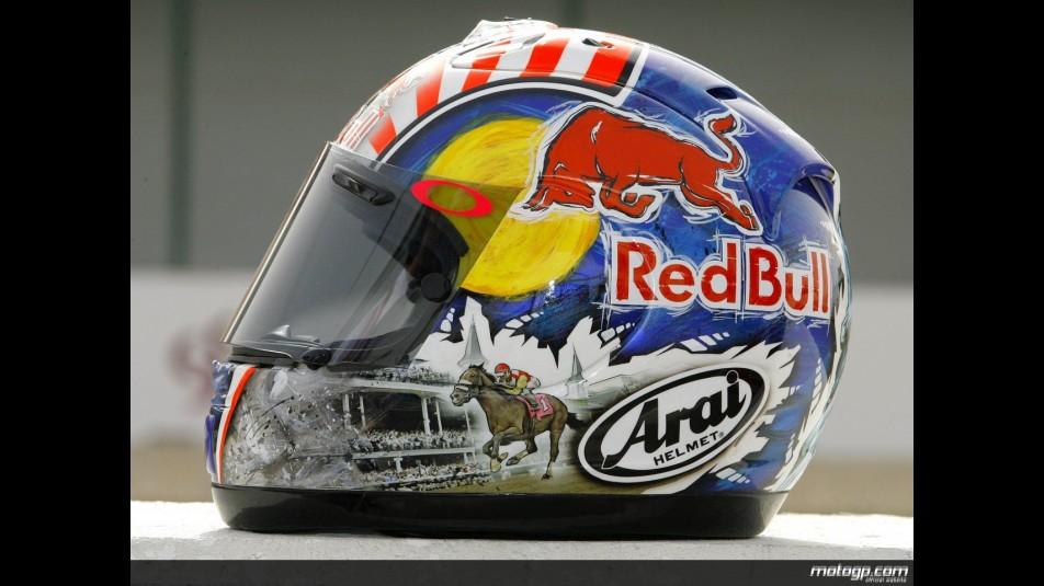motogp.com · Nicky Hayden 2008 Helmet designs