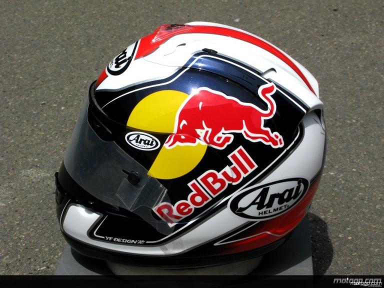 Repsol Honda´s Dani Pedrosa 2008 helmet