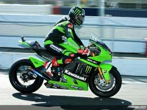 Kawasaki´s John Hopkins