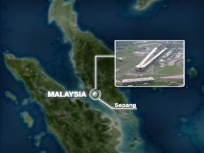 Sepang circuit close up