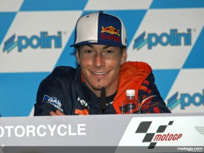 Nicky Hayden at the Polini Malaysian GP Press conference