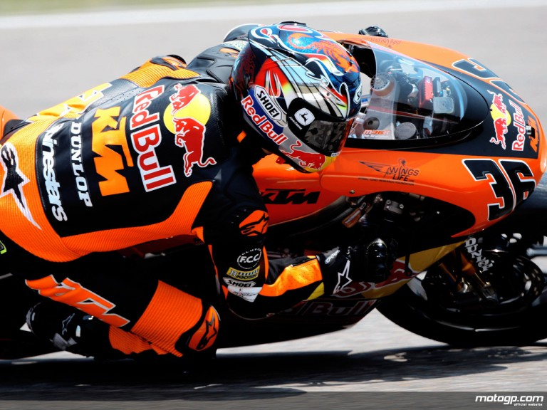Mika Kallio in action (250cc)