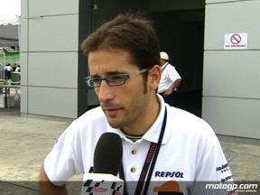 Raul Jara on Marquez FP1 crash
