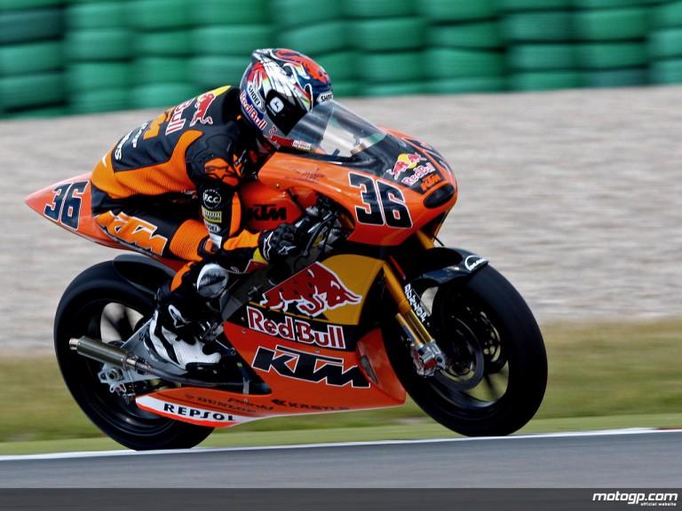 Mika Kallio on track (250cc)