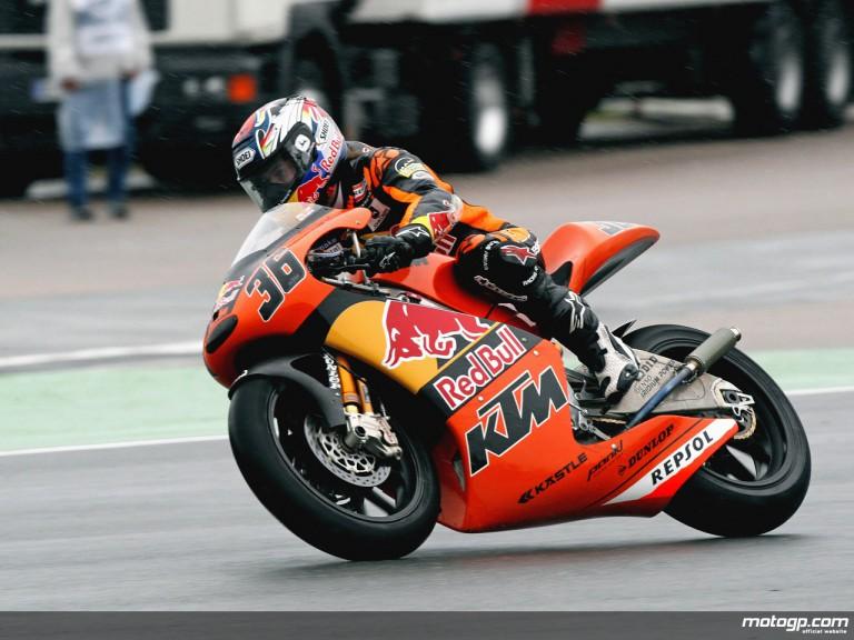 Mika Kallio on track