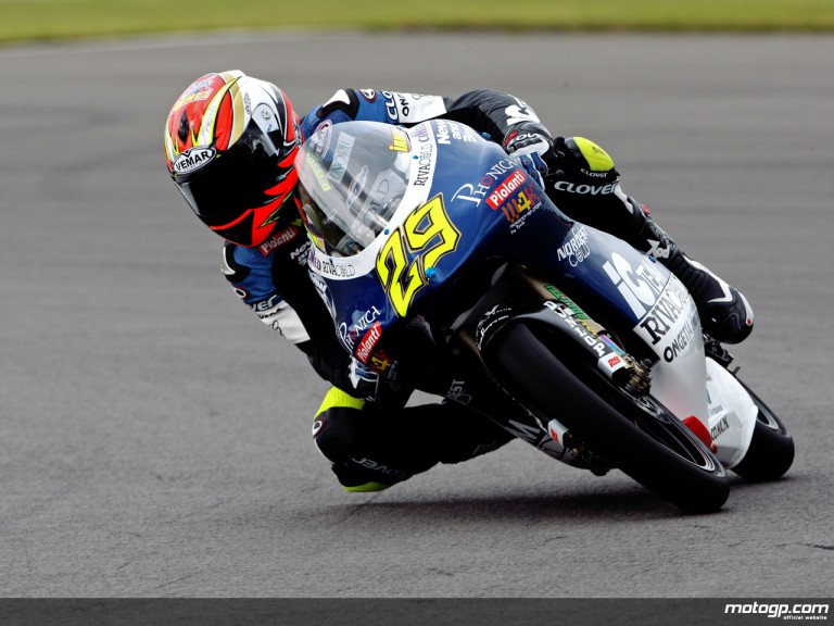 Andrea Iannone in action (125cc)