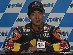 Hiroshi Aoyama interview after QP2 in Sepang