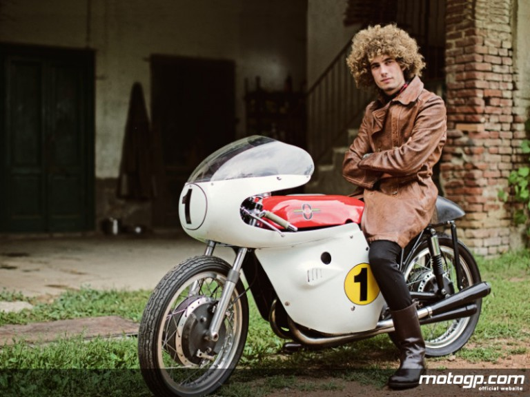 Metis Gilera rider Marco Simoncelli featured in Italian Vanity Fair - Photo: Luca Babini