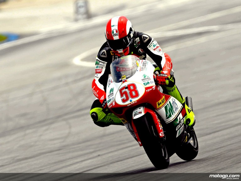 Marco Simoncelli 250cc World Champion 2008