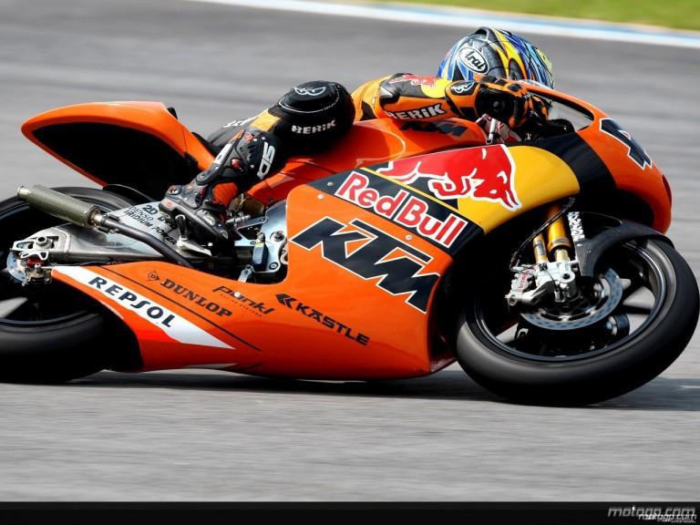 Hiroshi Aoyama in action in Sepang (250cc)