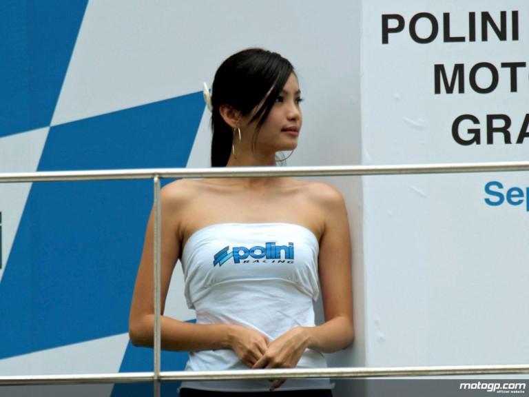 Malaysian Paddock Girl