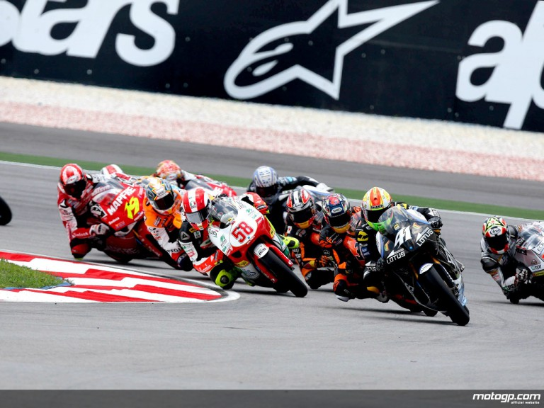 250cc Group in action in Sepang