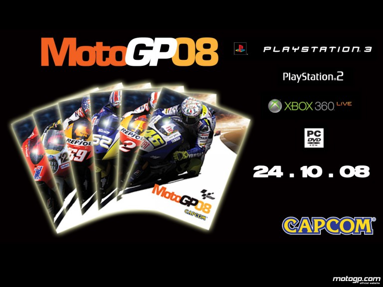 Capcom launches MotoGP08 Official Videogame