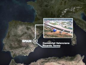 Valencia circuit close up