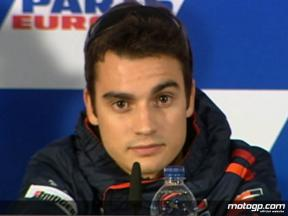 Pedrosa on the eve of 2008 final GP