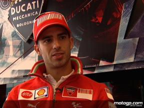 Melandri determined to bounce back in 2009