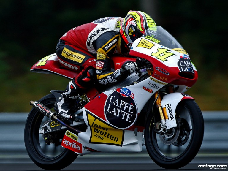 Sandro Cortese in action (125cc)