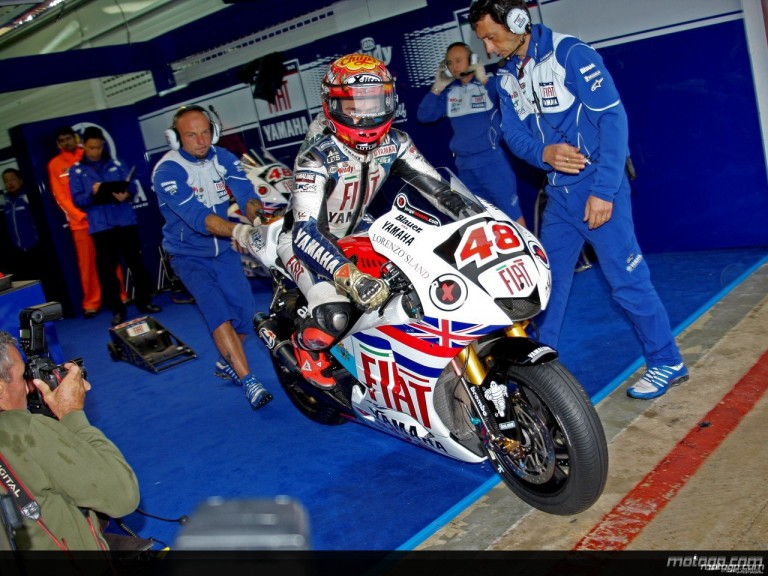 Lorenzo Land´s special livery