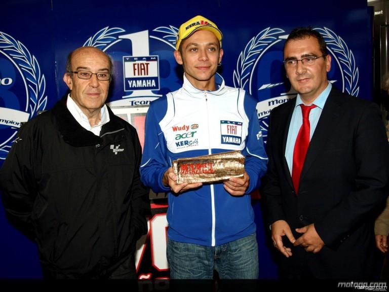 Valentino Rossi, `Hero of Marca´