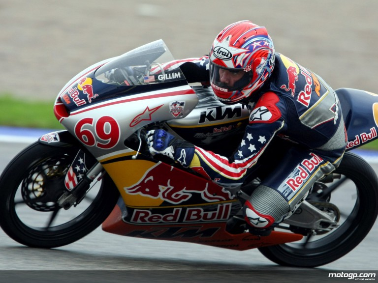 Red Bull Rookie Hayden Gillim in action at Valencia