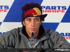Dovizioso reflects on rookie season
