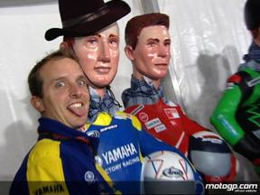 MotoGP `Ninots´ on display for Valencia circuit 10th anniversary