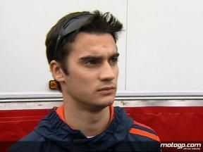 Pedrosa reviews first day at Valencia