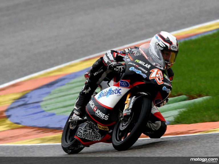 Nicolas Terol in action in Valencia (125cc)